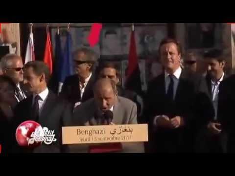 ليبيا برنار ليفي في طرابلس Libya : BHL se fait dégager deux fois à Tripoli
