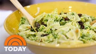 Siri Pinter Makes Bow-tie Pasta With Arugula Pesto | Today