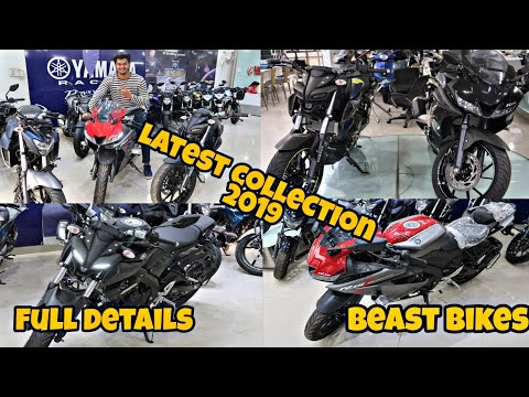 YAMAHA  LATEST SUPER BIKES COLLECTION 2019 R15  All Models FZ