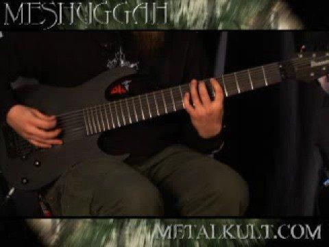 Meshuggah Metal Riff Lesson Part 2