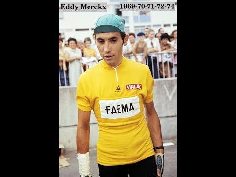 Tour De France Winners  / 1903(Garin)-1976(Van Impe)