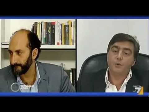 Walter Lavitola su La7: le domande di Marco Lillo ...