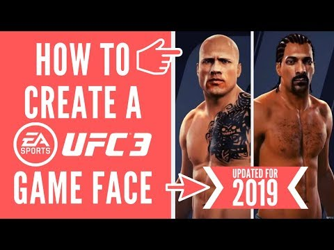 HOW TO MAKE AN EA GAME FACE - UPDATED TUTORIAL (UFC/FIFA/Madden/PGA) thumbnail