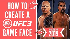 HOW TO MAKE AN EA GAME FACE - UPDATED TUTORIAL (UFC/FIFA/Madden/PGA)