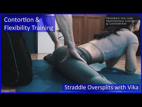 Contortion Training by Flexyart 133: Straddle Oversplits - Also for Yoga, Poledance, Ballet, Dance