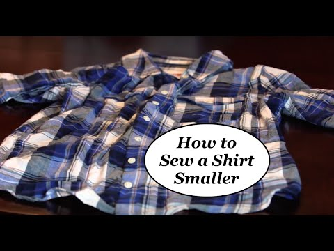 How To Make A Shirt Smaller EASY DIY The Rachel Dixon Sewing Cool How To Tailor A Shirt Without A Sewing Machine