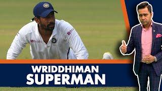 Wriddhiman SUPERMAN | #AakashVani | Cricket Analysis