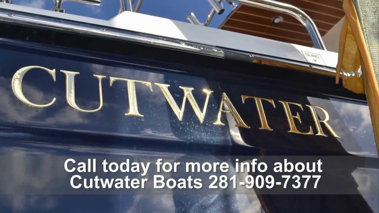 The Cutwater 28 - an Ocean going SUV!