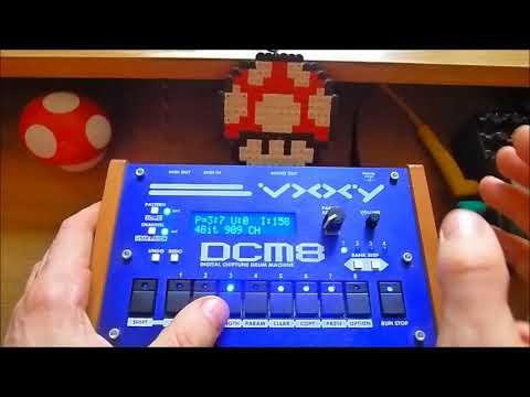 vxxy dcm8 chiptune drum machine 39 39 human 39 39 presets youtube. Black Bedroom Furniture Sets. Home Design Ideas