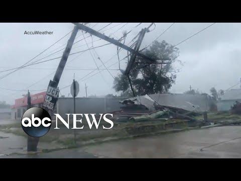 Hurricane Ida makes landfall with force