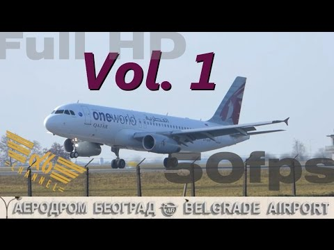 Belgrade Airport - Spotting Vol. 1 - A320, A319, B738, E195LR, CRJ900