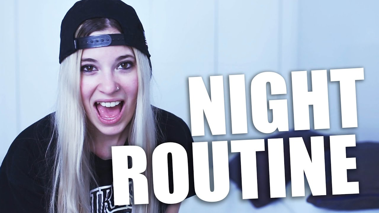 NIGHT ROUTINE - YouTube