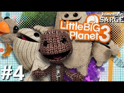 Zagrajmy w Little Big Planet 3 [PS4] odc. 4 - Uwolnienie zwinnego Oddsocka