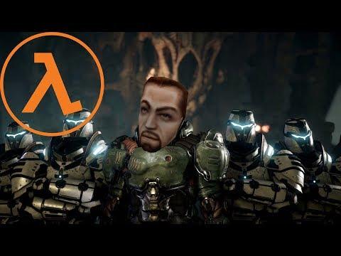 DOOM 2016 with Half-Life SFX