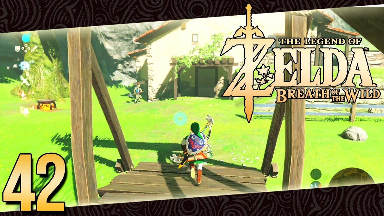 Zelda breath of the wild parte 42 espa ol comprando mi for Decorar casa zelda breath