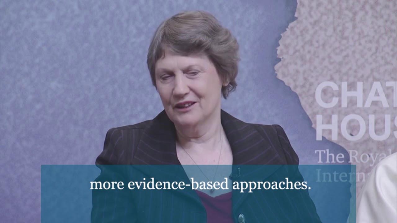 Helen Clark on the perception of drugs