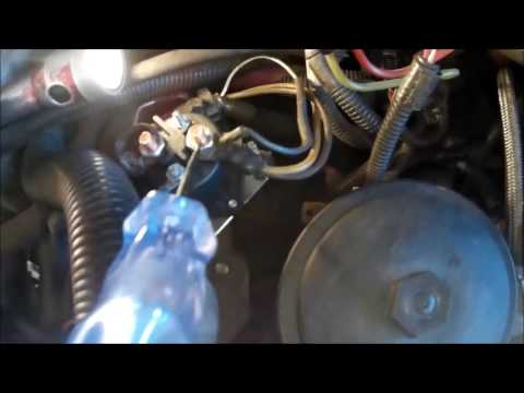 Ford glow plug relay test - YouTube