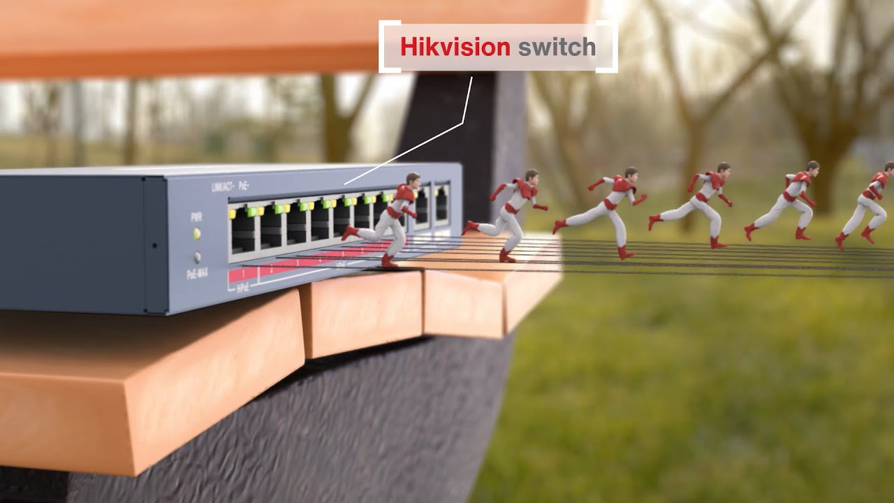 Hikvision PoE Switches - Reliable Connection, Enhanced Protection - YouTube