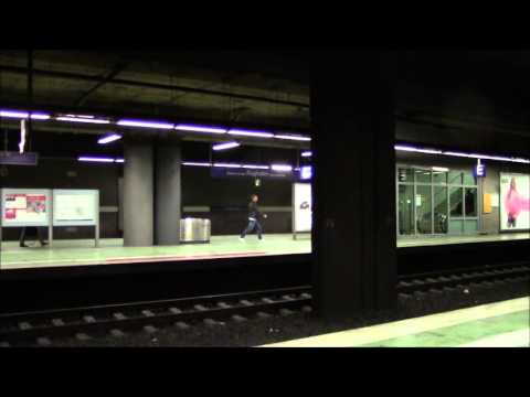 Frankfurt Am Main Flughafen Regional Bahnhof Frankfurt Airport Railway Station フランクフルト空港駅 Youtube