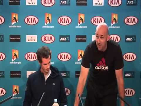 Andy Murray, Jez Green, Ivan Lendl And 'The Confession'.
