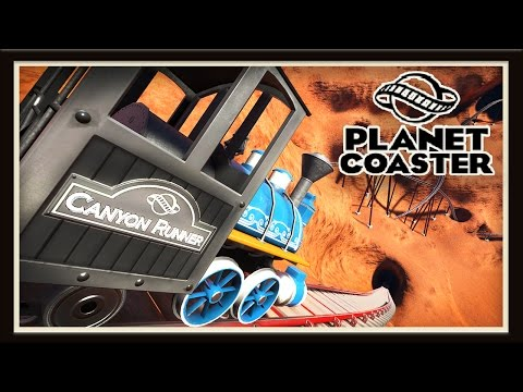Planet Coaster: Crazy Western Roller Coaster Build!    (Season 2 - part 13)