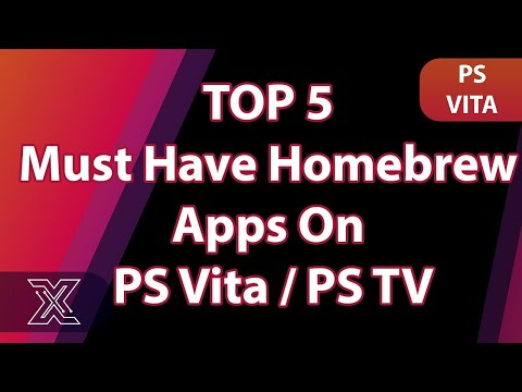 Top 5 Must Have Homebrew Apps On PS Vita   PS TV