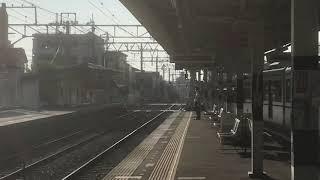 山陽5000系5018F直通特急阪神大阪梅田行き 藤江駅発車