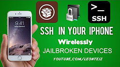 How to SSH into your iPhone's File System Wirelessly (OpenSSH)