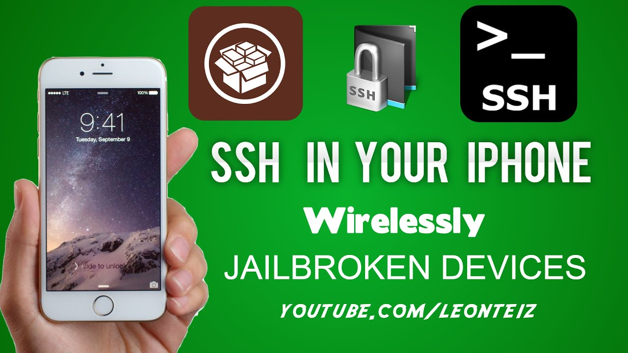 ssh into iphone how to ssh into your iphone s file system wirelessly 13049