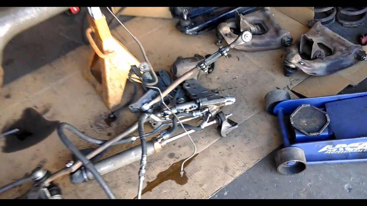 Front Suspension And Brake Removal 1969 Ford Mustang