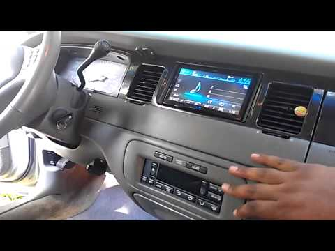 1998 Lincoln Towncar Audio System Wrap Up Youtube