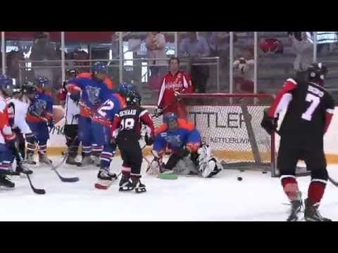 Alex Ovechkin Skates With The American Special Hockey Association 9/11/14