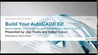 Back to Basics: Introduction to Layer Management in AutoCAD 2017