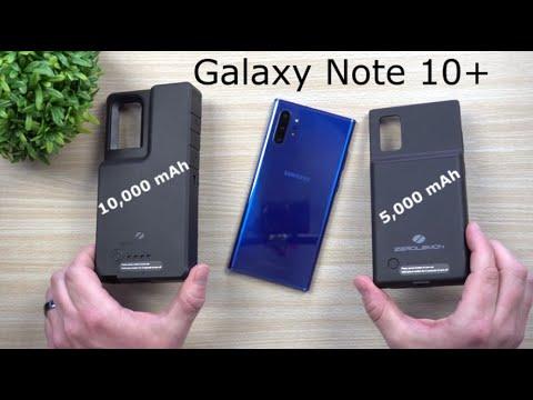 5,000mAh VS 10,000mAh Battery Case For Galaxy Note 10+