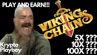 VIKINGSCHAIN NEXT 10X - 100X ??  ALTCOIN NFT IDO LAUNCHING SOON  BSC NETWORK  GAMING MONEY MAKER