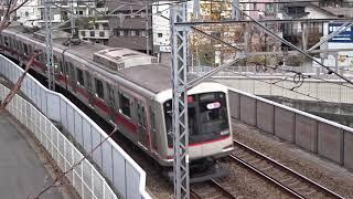東急東横線5050系通過