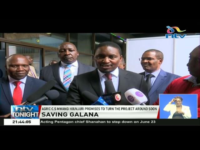 CS Kiunjuri: Galana Kulalu Food Security project will not collapse