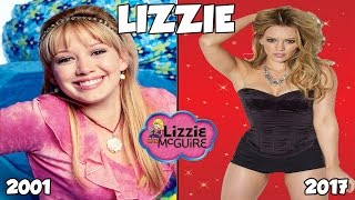 lizzie mcguire then and now 2017