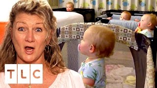 Mimi Shares Hotel Room With The Quints | Outdaughtered | S2 Episode 8
