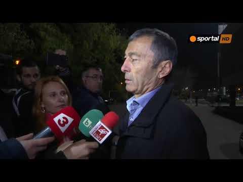 Пламен Марков за боя в Пловдив: Това не е война, за мен правилно мачът се доигра