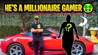 I Met My Online Pubg Mobile Friend In Real Life | He's A Millionaire 🤑