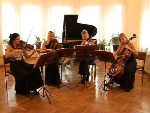 Lullaby of birdland-Wonder string quartet