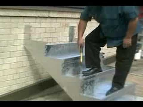 Boltless Metal Stairs   YouTube