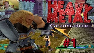 ALL OUT WAR | Heavy Metal Geomatrix #1 | Sega Dreamcast Game