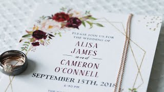 Alisa and Cameron Wedding Highlight Video