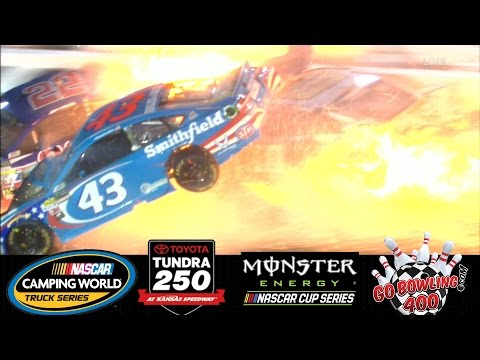 2017 NASCAR Highlights , Toyota Tundra 250 , Go Bowling 400 , 5/11 - 5/13/2017