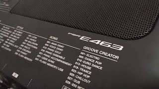 Yamaha PSR E463 INDIAN DEMO OVERVIEW NEW FEATURES