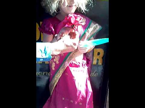 Baby In Indian Dress