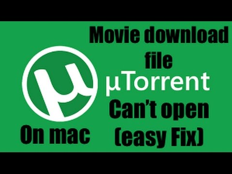 you can't open the application utorrent because it is not supported on this type of mac
