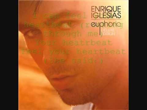 Enrique Iglesias Ft.Nicole Scherzinger -I CAN FEEL YOUR  HEARTBEAT  LYRICS